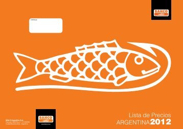 Lista de Precios ARGENTINA2012 - Meyer SACIF