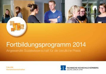 Fortbildungsprogramm 2014 - Georg-Simon-Ohm-Hochschule ...