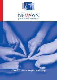 Broschüre 2013 - NEWAYS Group International