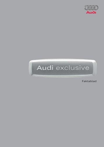 Audi exclusive - H-kan.se