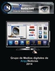 Grupo de Medios digitales de ArquiNoticias 2014