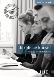 JUC Juridiske kurser marts-september 2014