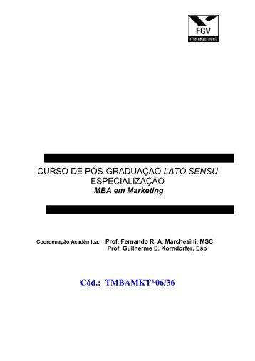 CURSO DE PÓS-GRADUAÇÃO LATO SENSU ... - Grupo Ideal