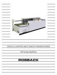 Sterling 860 Perfect Binder Brochure