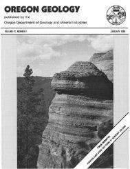 Ore Bin / Oregon Geology magazine / journal - Oregon Department ...