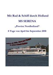 PDF Datei anzeigen - Kreuzfahrten von Smaragd Seereisen