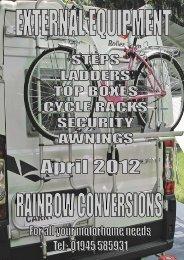 Oct 2012 External Equipment Catalogue - Rainbow Conversions Ltd