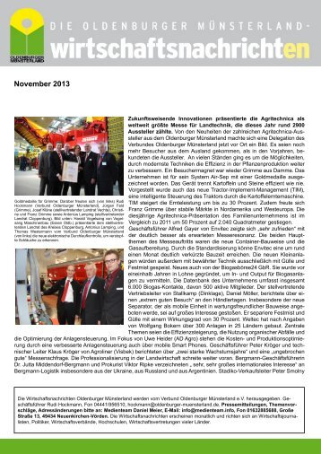 WN Nov 2013 - 12f.indd - Verbund Oldenburger Münsterland