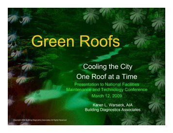Cool Roofs - NFMT