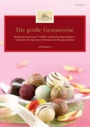 KATALOG Lauenstein Pralinen und feinste Schokoladenkreationen