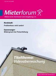 IV/2013 - Mieterverein Dortmund und Umgebung eV