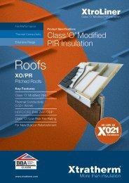 XtroLiner XO/PR Brochure Download PDF - Xtratherm
