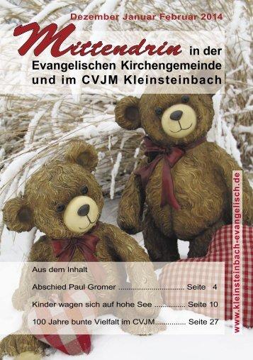 Download - evangelische Kirche Kleinsteinbach