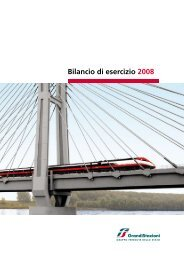 Prospetto di Bilancio al 31-12-2008 - Grandi Stazioni S.p.A.
