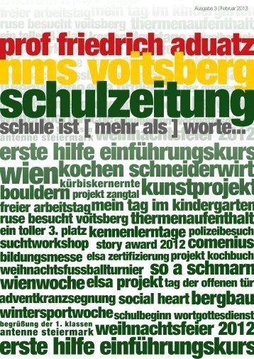 Schulzeitung - nms Voitsberg - Ausgabe 3