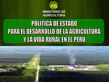 MINISTERIO DE AGRICULTURA - Odepa