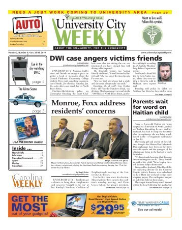 University City - Carolina Weekly Newspapers