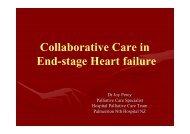 Collaborative Care in End-stage Heart failure - Palliative Care ...