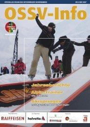 OSSV Info Nr. 4 - Mai 2007