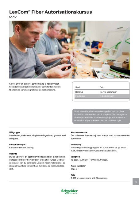 Produktskolen - Schneider Electric