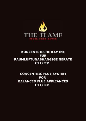 concentric flue system for balanced flue appliances c11 ... - The Flame