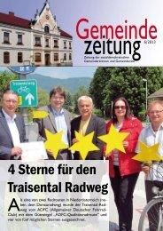 Gemeinde Zeitung 6/2013 - SPÖ Traisen
