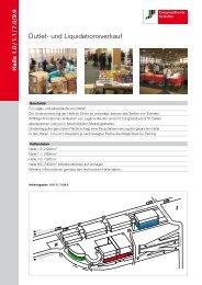 Outlet- und Liquidationsverkauf - CongressEvents St. Gallen