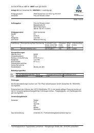 GUTACHTEN zur ABE Nr. 46087 nach §22 StVZO Anlage 22 zum ...