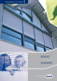 PENTO® QUADRO® - Weru Studio Schwarmann