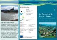 Die Sanierung der Unteren Salzach - rudern.de