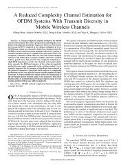 A reduced complexity channel estimation for OFDM systems with ...