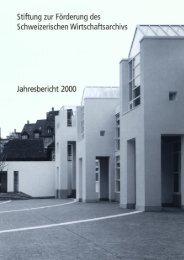 2000 (pdf) - Universitätsbibliothek Basel - Universität Basel