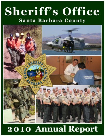 2010 Annual Report - Santa Barbara County Sheriff's Department