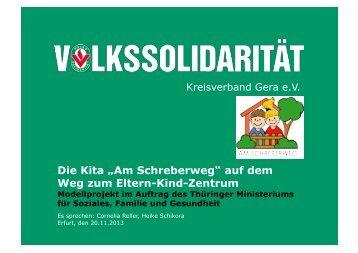 auf dem Weg zum Eltern-Kind-Zentrum - DIE LINKE im Thüringer ...