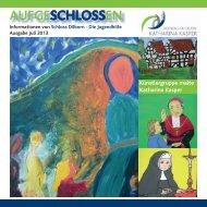 Schloss Dilborn - Die Jugendhilfe - Maria Hilf NRW gGmbH