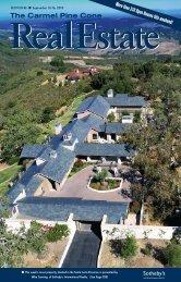 Carmel Pine Cone, September 10, 2010 (real estate) - The Carmel ...