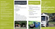Waste and Recycling - Pittwater Council