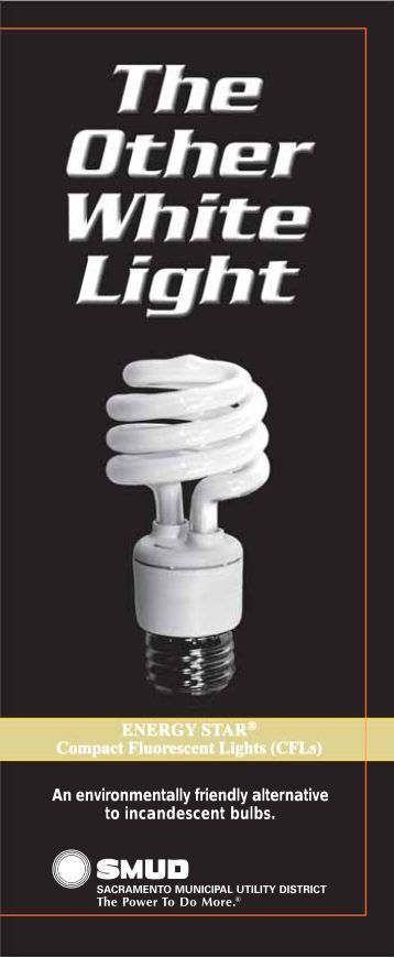 CFLs - Sacramento Municipal Utility District