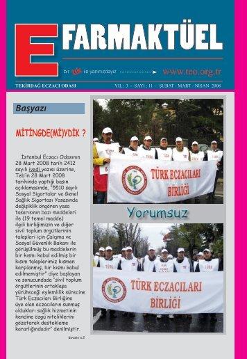 Başyazı - Türk Eczacıları Birliği