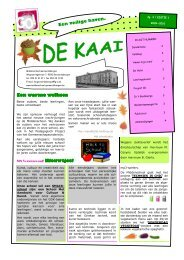 editie 1 - Middenschool Geraardsbergen