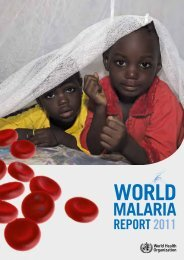 MALARIA - WHO Western Pacific Region - World Health Organization