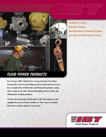 fluid power products - Ibtinc.com