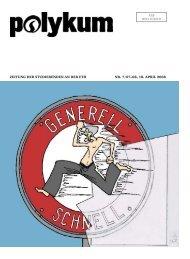 Zeitung der Studierenden an der etH nr. 7/07–08, 18. aPriL 2008