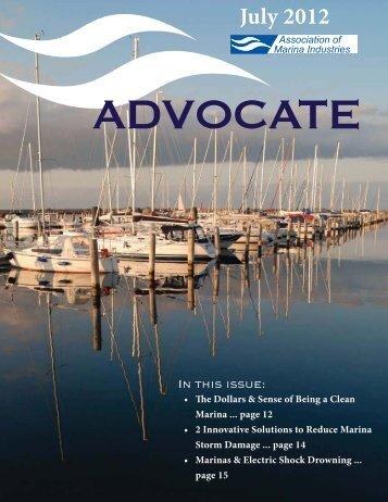 July 2012 - Association of Marina Industries