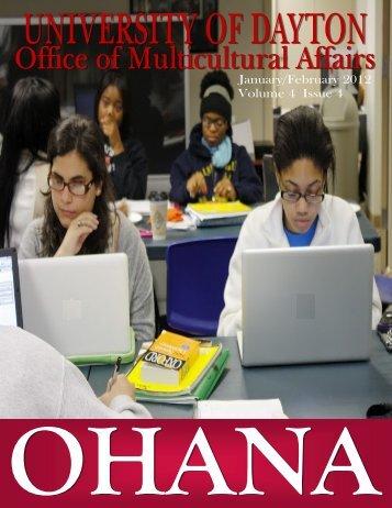 Issue 4.4 - January/February 2012 - University of Dayton
