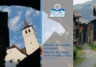 Bellwald - UNESCO Welterbe Schweizer Alpen Jungfrau-Aletsch