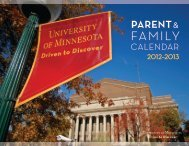 pARENt - Orientation and First-Year Programs - University of ...