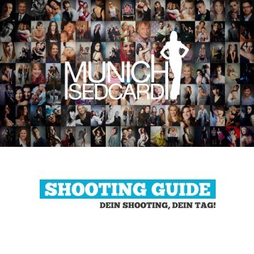 Shootingguide (pdf) - Munich Sedcard
