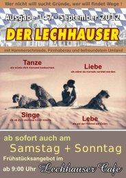 der Lechhauser - Nummer 147 - Ausgabe ... - Lechhausen - T-Online