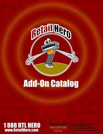 Add-On Catalog - Retail Hero